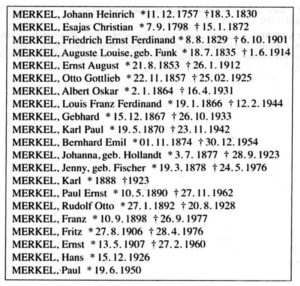 Nr_127-P List of Merkels